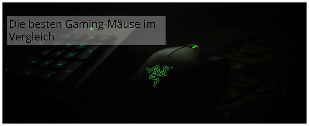 Die besten Gaming Mäuse im Vergleich