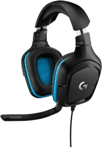 Logitech G432 Gaming Headset Surround Sound 7.1